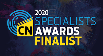 Construction News Specialist Finalist logo