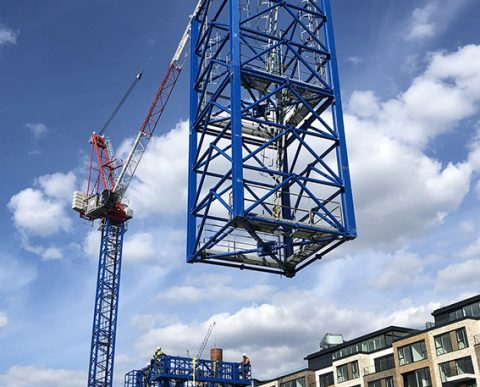 Bennetts Cranes Chelsea Creek Raimondi LR213 base lowered by LR273