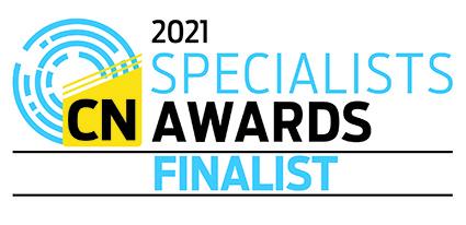Construction News Specialist Finalist logo